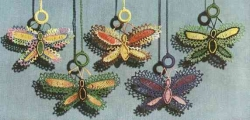 Butterfly Shade Pulls