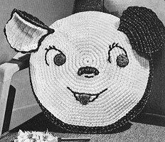 Doggy Pillow Crochet Pattern Free Crochet Patterns at ...