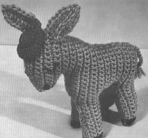 Free Dk Baby Knitting Patterns :   Stuffed Donkey Crochet Pattern   Free Crochet Patterns at CrochetNow.com