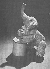 Crocheted Elephant Pattern