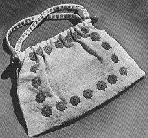 Knitting Bag Crochet Pattern