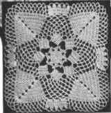 Pinecone Bedspread