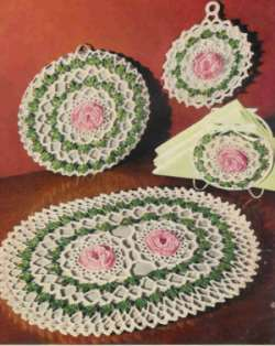 HOT PAD SQUARE Crochet Pattern - Free Crochet Pattern Courtesy of